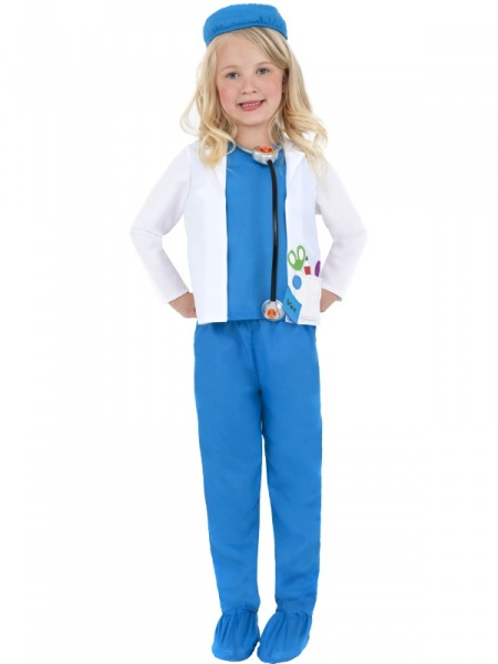 V naší půjčovně nabízíme tento kostým pro malé doktorky i doktory se skládá  z kalhot 53834dd373a