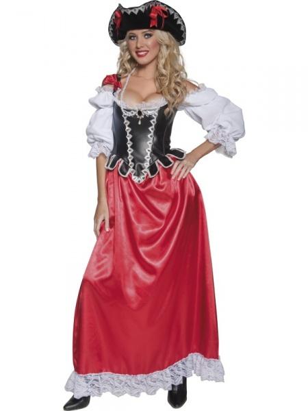 5cb1e552d968 Kostým Pirátka - velitelka - Půjčovna kostýmů Anděl