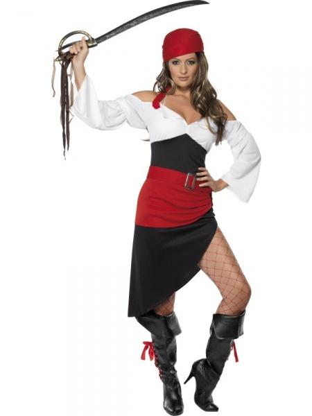 438e32f3f09e Kostým Krásné pirátky - Půjčovna kostýmů Anděl