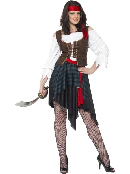 9278b41f1f66 Kostým statečná pirátka - Půjčovna kostýmů Anděl