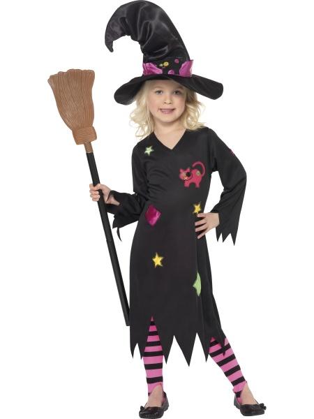 Dětský dívčí kostým - Malá čarodějka - Půjčovna kostýmů Anděl 5c60e75619f