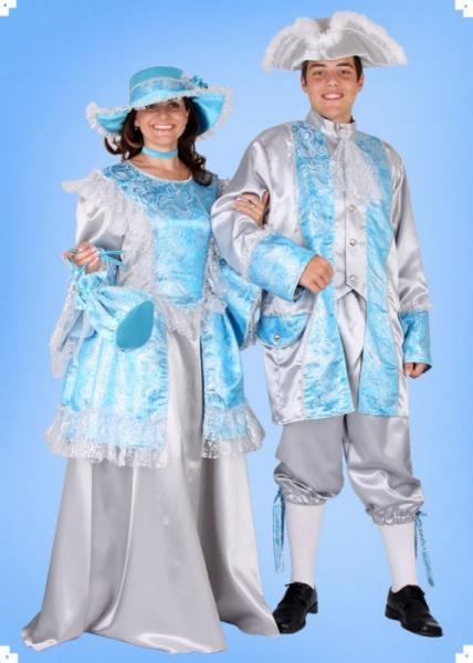 89f6e231b34e Kostým Dáma z rokoka - Půjčovna kostýmů Anděl