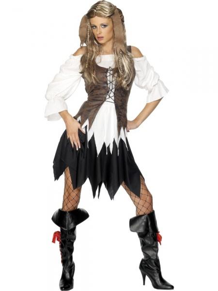 bfe8bd8a058e Kostým Pirátka se sukní - Půjčovna kostýmů Anděl